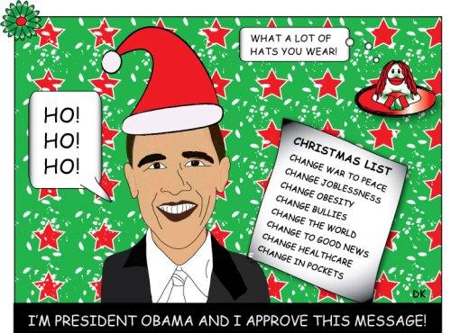 Obama Christmas message