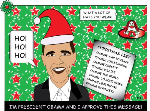 Obama Christmas message